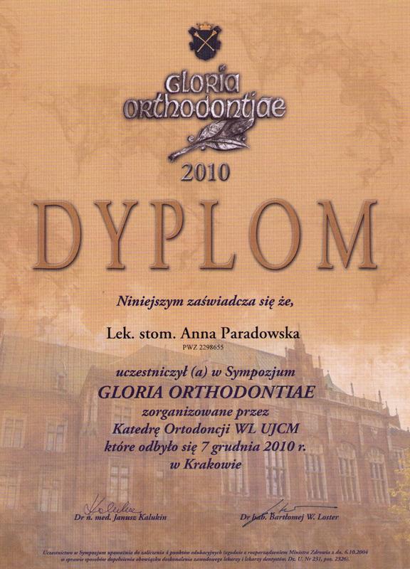 Gloria Orthodontiae
