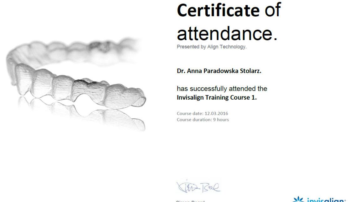 Invisalign Training Course 1